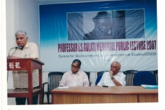 """Public Lecture on """"Decentralisation and Community Action"""""""