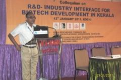 R&D-Industry Interface for Biotech Development in Kerala