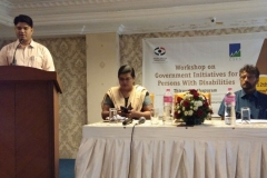 Workshop on Government Initiatives for Persons with Disabilities